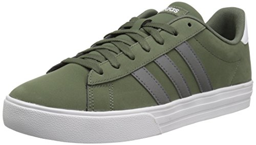 - adidas Men's Daily 2.0, Base Green/Grey Four/White, 7 M US