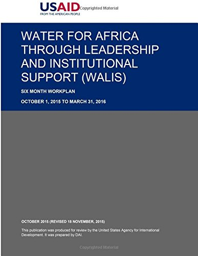 Download Water for Africa through Leadership and Institutional Support (WALIS) pdf