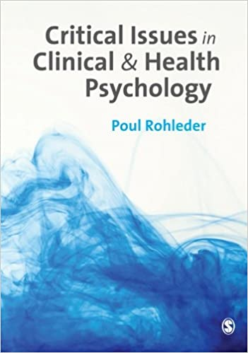 Book jacket for Critical Issues in Clinical and Health Psychology