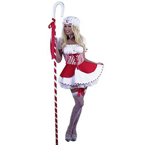 Adult Sexy Little Bo Peep Dress (Sz: Medium 8-10) (Bo Peep Costume For Adults)