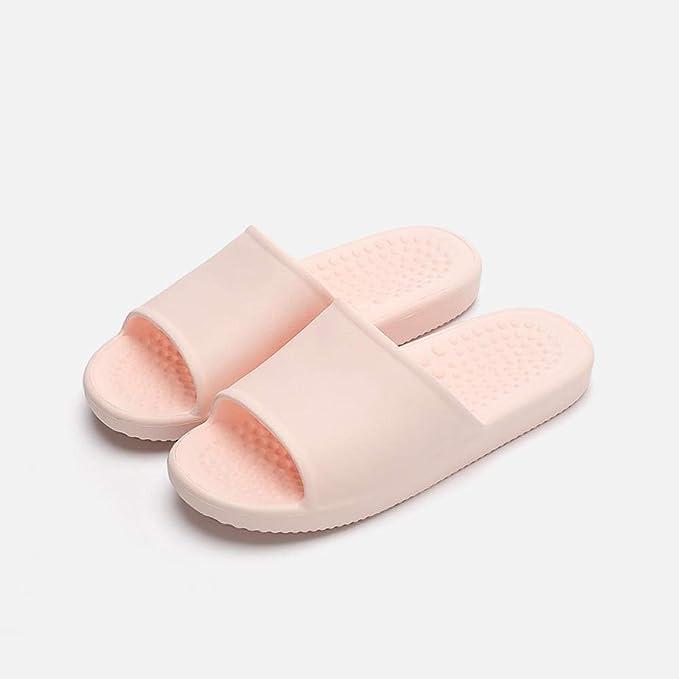 WTFYSYN Zapatillas de Masaje Mujeres,Zapatillas de Pasillo de Fondo Suave para el hogar, Sandalias de baño de Masaje Antideslizantes: Amazon.es: Deportes y aire libre