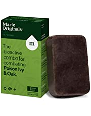 Marie's Original Poison Ivy Soap Bar | All Natural Poison Ivy Treatment | Anti-Itch Skin Cleanser Bar for Poison Ivy, Poison Oak and Sumac | Removes Oils, Soothes and Relieves Rashes | 2.9 Ounces