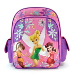 Disney's Fairies BackPack Small Size - Tinkerbell School Bag Small