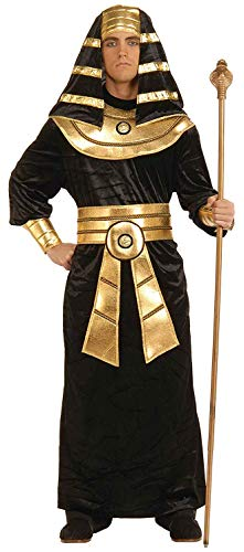 Forum Novelties Men's Egyptian Pharaoh Costume, Black/Gold, Plus]()