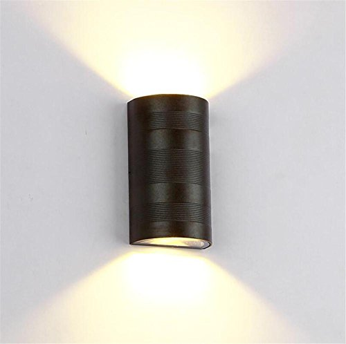 Sconce Wall Candle Modern - Modern Aluminum 6W LED Wall Lights Up Down Wall Lamp Wall Sconce Hallway Bedroom Bedside Lamp Background Light Outdoor Indoor Lighting ? Black ?
