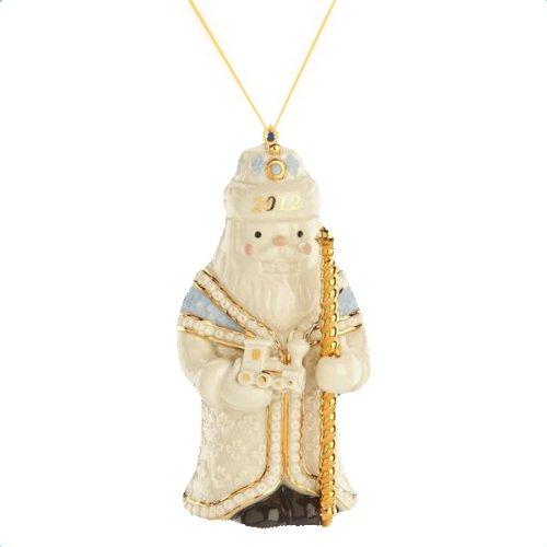 Lenox 2012 Imperial Czar Nutcracker Ornament