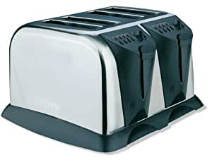 West Bend 4-Slice Toaster, Stainless Steel