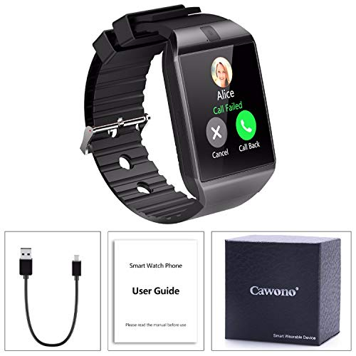 Amazon.com: Beauty-OU Bluetooth Smart Watch DZ09 Relojes ...