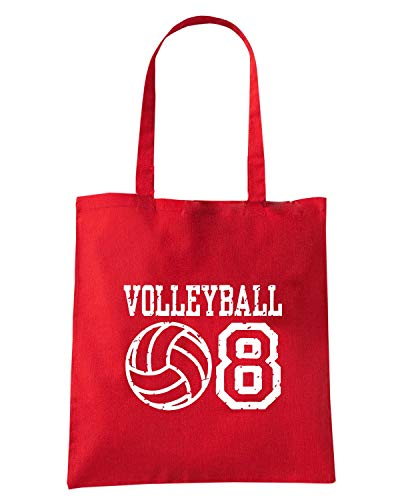 08 Borsa VOLLEYBALL Speed Shirt Shopper OLDENG00787 Rossa qcW1ZWC