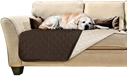Furhaven Pet Furniture Cover | Two-Tone Water-Resistant Reversible Furniture Cover Protector Pet Bed for Dogs & Cats - Available in Multiple Styles & ...