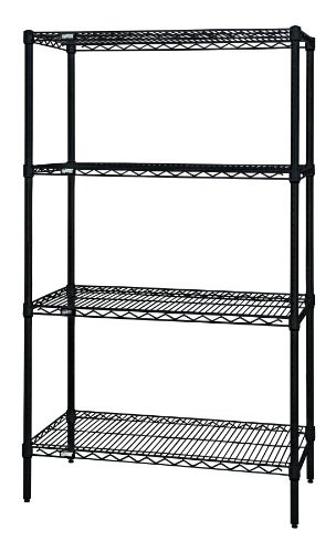 "Review Quantum Storage Systems WR63-1236BK Starter Kit for 63"" Height 4-Tier By Quantum Storage Systems by Quantum Storage Systems"