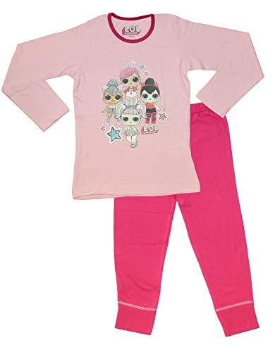 L.O.L Surprise Dolls Pijama para niñas Soft Cotton PJs Pijamas Confetti Pop Pjs Lil Sisters (4-5 años, 4 Personajes Rosa…