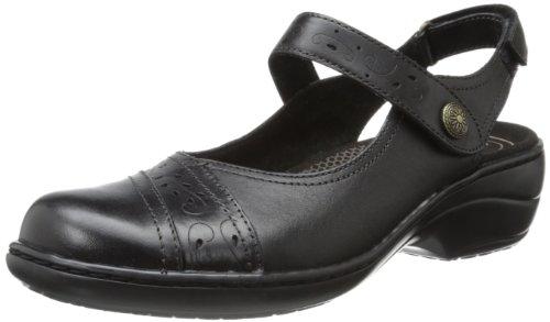 Rockport Cobb Black Revmoon Hill Dress Sandal Women's rrCqwR4