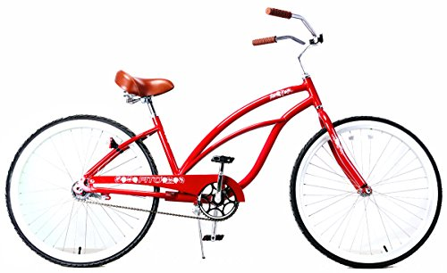 Fito Women's Marina Aluminum Alloy 1-Speed Beach Cruiser Bike