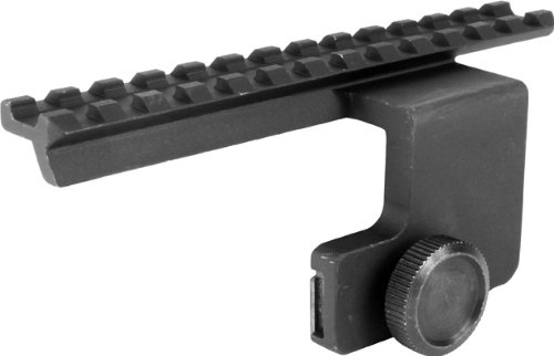 Aim Sports Ruger Mini-14 Side Scope Mount (Black, Small)