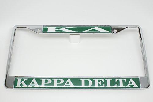 Kappa Delta License Plate Frame (License Frame Plate Delta)