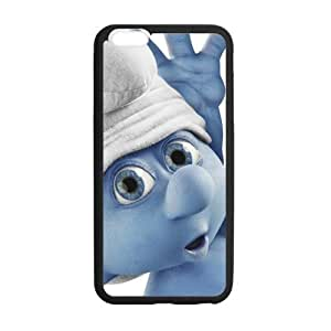iphone 5 5s Case, [The Smurfs] iphone 5 5s Case Custom Durable Case Cover for iPhone6 TPU case(Laser Technology)