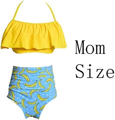 eccc358545 2018 Summer Clothes Family Matching Swimwear Mother Daughter Women Clothes  Beach Kid Clothing Bikini Swimsuit Girl