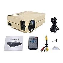 Mini Portable Home Cinema Theater LED Projector HD 1080P HDMI AV USB VGA Professional Double Shooting Protecting Design