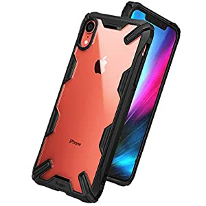 """Ringke Fusion X Designed for iPhone XR Case Smartphone Protective Cover (6.1"""") (2018) - Black"""