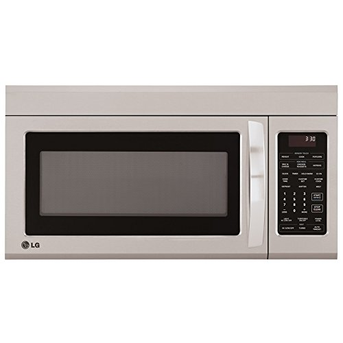 LG LMV1831ST 1.8 cu. ft. Over-the-Range Microwave Oven with EasyClean by LG