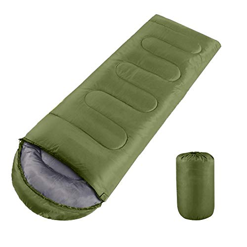Yaheetech Sleeping Bags for Adults/Kids Rectangular Lightweight 3 Season Sleeping Bags Envelope Single Sleeping Bag with…