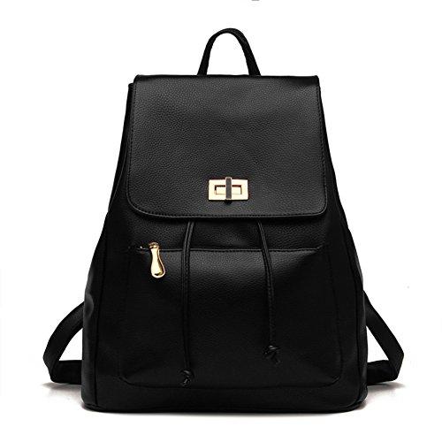 Carteras al hombro/Versión coreana de mochila/Bolsas de viaje de ocio/Doble uso bolsa de Women-A A
