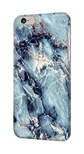 E2689 Blue Marble Texture Graphic Printed Funda Carcasa Case para IPHONE 6S PLUS