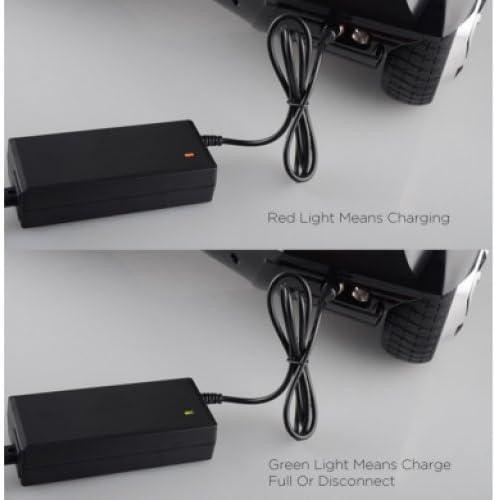 Adaptateur Secteur Alimentation Chargeur 42V 2A pour Hoverboard Gyropode Scooter Segway Monorover Skateboard Electrique Equilibrage pour deux-roues