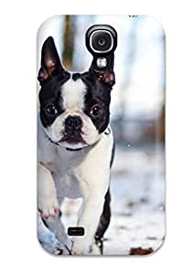 Galaxy Case - Tpu Case Protective For Galaxy S4- Running Dog