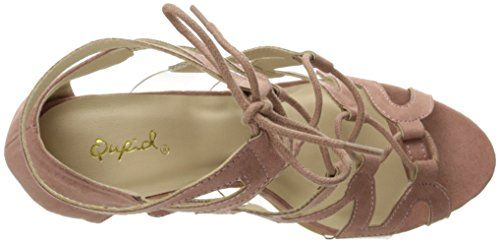 Qupid Women's Katana-04 Dress Sandal Mauve RAhZK