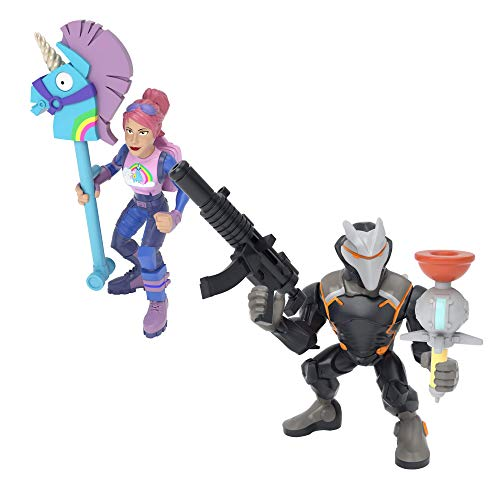 Fortnite Battle Royale Collection: Omega & Brite Bomber – 2 Pack of Action Figures