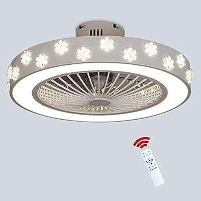 3 color invisible Ventilador de techo de luz LED con control ...