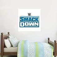 Beautiful Game WWE Wall Sticker - SmackDown Logo Wall Decal Vinyl Kids Mural Art Wrestling