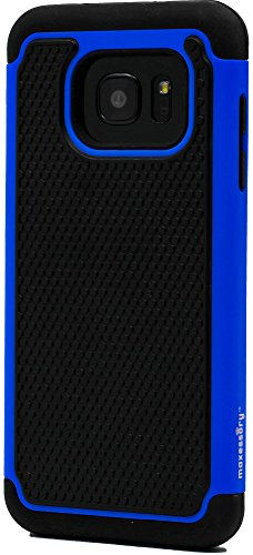 Slim Rugged Shockproof TPU Case For Samsung Galaxy S7 Edge (Black) - 5