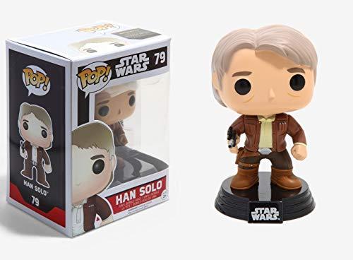Funko POP Star Wars: Episode 7 - Han Solo Action Figure ()
