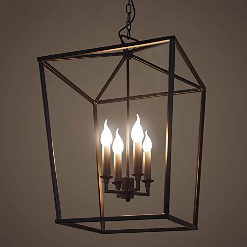 Workshop Cage Pendant Lights