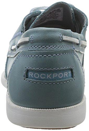 Rockport 2-EYE - Náuticos de cuero hombre azul - Blau (LT BLUE)
