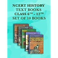 NCERT History Class 6 to 12 Text Books Set - English Medium