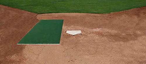 3'x5' Baseball Softball Hitting Stance Batting Practice Home Plate Mat by PREMIUM PRO TURF