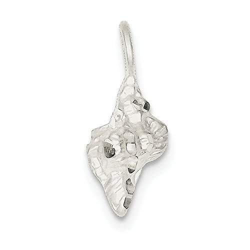 Jewelry Adviser Charms Sterling Silver Shell Charm