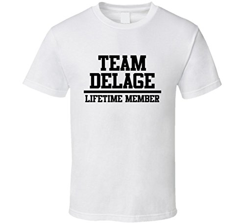 team-delage-lifetime-member-last-name-cool-t-shirt-xl-white