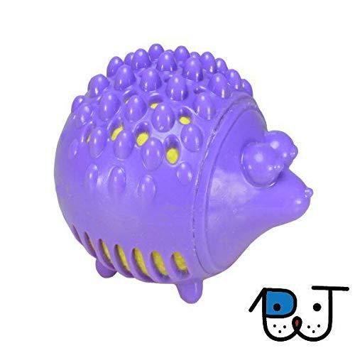 Brinquedos - Brinquedo Petstages de Boracha e Pelúcia para Cães Gummy Plush Porco Espinho P