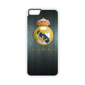 iPhone6 Plus 5.5 inch Phone Case White Real Madrid MHF9924778