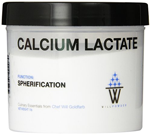 WillPowder Calcium Lactate, 16-Ounce