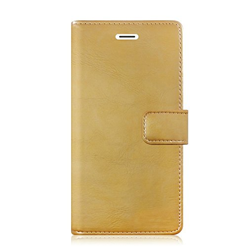 IPHONE 7 PLUS Hülle - [MANSOOR DIARY]VENTER®Stand Hülle Etui with Karte Halterung Leder Wallet Klapphülle Flip Book Case TPU Cover Bumper Tasche Ultra Slim für Apple IPHONE 7 PLUS