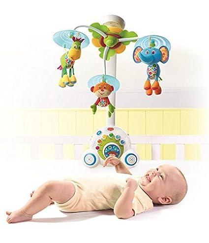 Amazon.com: Azul, Baby móvil con 18 melodías diferentes ...