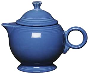 Fiesta Covered Teapot, 44-Ounce, Lapis
