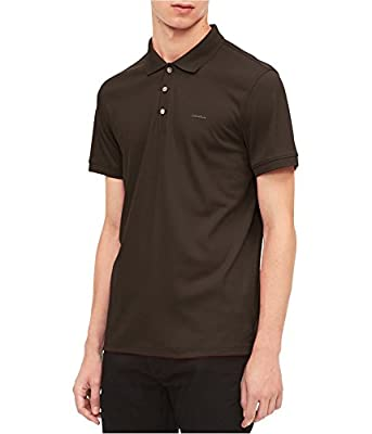 Calvin Klein Men's Cotton Liquid Touch Polo Shirt