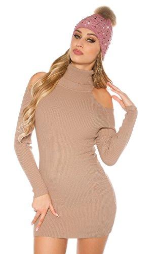 Cappuccino Angies Fashion Pull Glamour Femme WnwSg4R